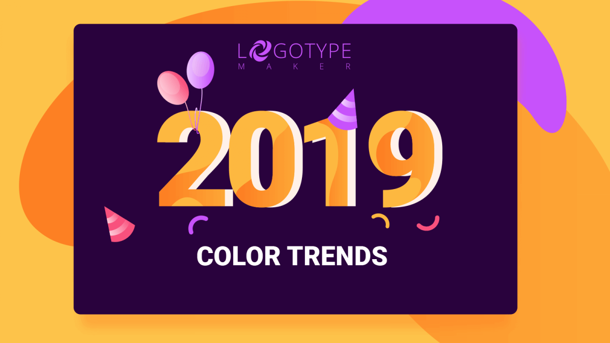 Color trends 2019 to dominate the logo design